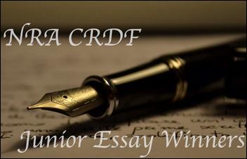 2016 Junior NRA CRDF Youth Essay Contest Winners