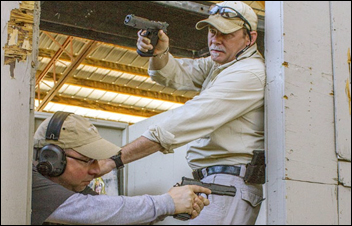 How to Clear Corners in a Home-Defense Scenario