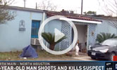 78-year-old shoots alleged robber outside home