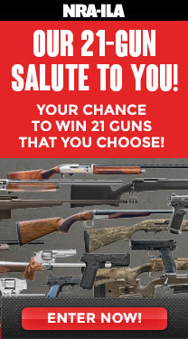 Your chance to Win 21 guns that you choose!