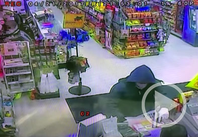 Armed employee sneaks up behind armed suspect, foils robbery attempt