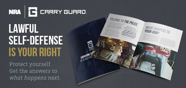 NRA Carry Guard. Lawful self-defense is your right. Protect yourself. Get the answers to what happens next.