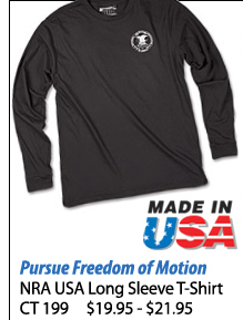 NRA USA Long Sleeve T-Shirt