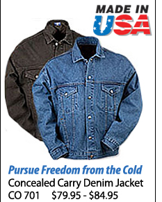 Concealed Carry Denim Jacket