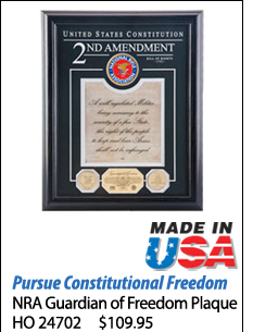 NRA Guardian of Freedom Plaque