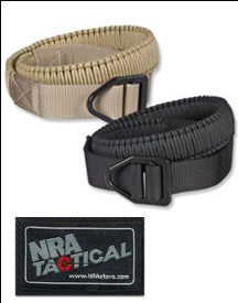 NEW! NRA Tactical IAO Paracord Belt