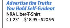 NRA Liber-T-Shirt