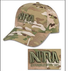NRA Multicam Hat