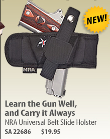 NRA Universal Belt Slide Holster