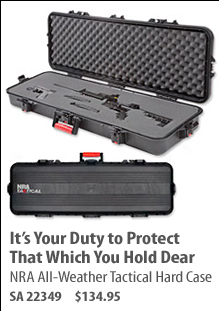 NRA All-Weather Tactical Hard Case