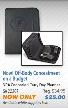 NRA Concealed Carry Day Planner