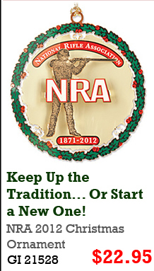 NRA 2012 Christmas Ornament