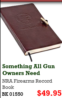 NRA Firearms Record Book
