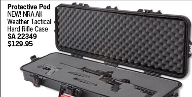 NEW! NRA All Weather Tactical Hard Rifle Case