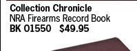 NRA Firearms Record Book