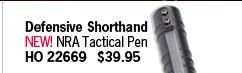NEW! NRA Tactical Pen