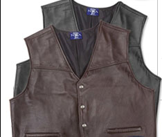 NEW! The Virginian CCW Leather Vest
