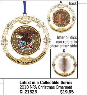 2010 NRA Christmas Ornament
