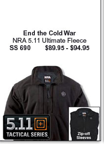 NRA 5.11 Ultimate Fleece