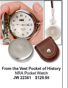 NRA Pocket Watch