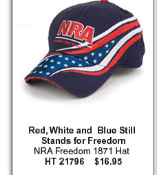 NRA Freedom 1871 Hat