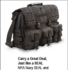 NRA Navy SEAL Briefcase and Laptop Bag