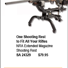 NRA Extended Magazine Shooting Rest