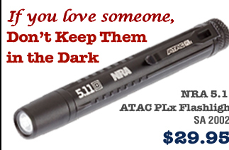 NRA 5.11 ATAC PLx Flashlight