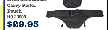 NRA 5.11 Select Carry Pistol Pouch