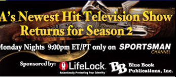 Tune in to NRA's Guns and Gold monday nights at 9PM ET