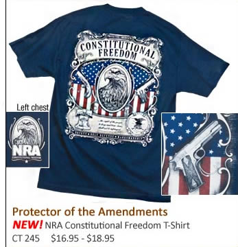 NEW NRA Constitutional Freedom T-shirt