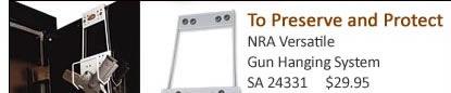 NRA Versitile Gun Hanging System