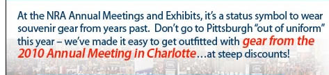Get outfitted with discounted gear from the 2010 Annual Meeting in Charlotte