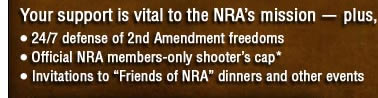 Join the NRA of Upgrade Your Membership