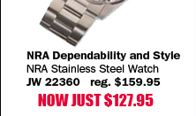 NRA Stainless Steel Watch