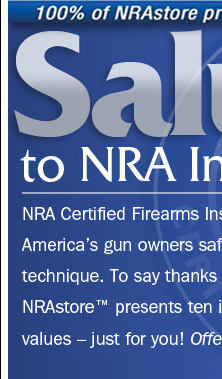 Salute to NRA Instructors