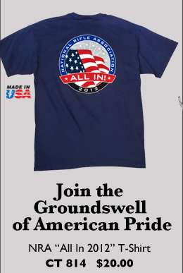 NRA ALL IN 2012 T-Shirt