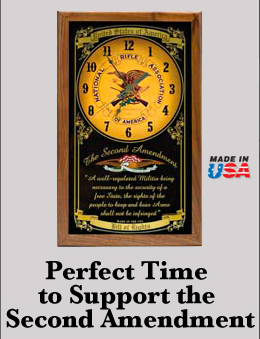 NRA Second Amendment Clock