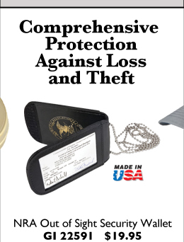 NRA Out of Sight Security Wallet
