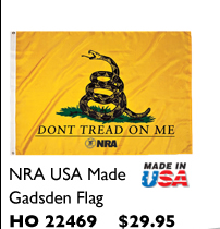 NRA USA Made Gadsden Flag