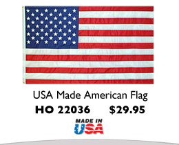 USA Made American Flag