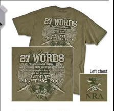 NRA 27 Words T-Shirt