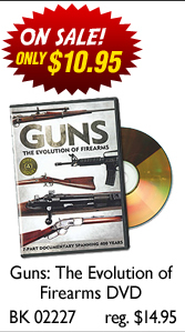 Guns: The Evolution of Firearms DVD