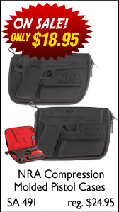NRA Compression Molded Pistol Cases