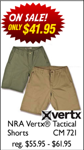 NRA Vertx® Tactical Shorts