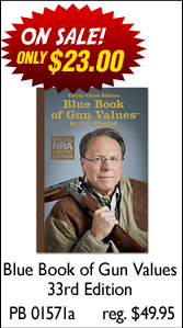 Blue Book of Gun Values 33rd Edition