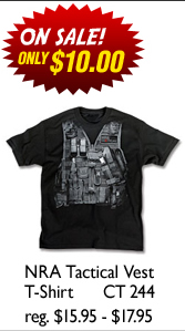 NRA Tactical Vest T-Shirt
