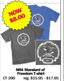NRA Standard of Freedom T-Shirt