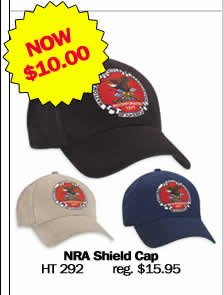 NRA Shield Cap