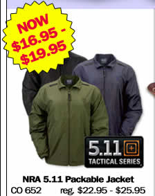 NRA 511 Packable Jacket